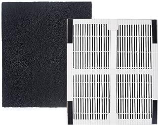 Idylis Part IAF-H-100C for Idylis Air Purifiers IAP-10-200, IAP-10-280, Comparable 1HEPA Filter Plus 1 Pack Carbon Filter