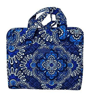 Vera Bradley Hanging Organizer (Blue Tapestry)