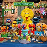 Sesame Street Backdrop | First Birthday | Party Supplies | Decorations | 1st | Girl | Boy | Banner Photography Background