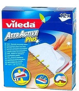 VILEDA Attractive Plus mop Refills zestaw 12 sztuk