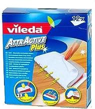 Vileda Attractive Plus Mop Refills (Pack 12)