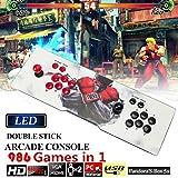 DODOING Spielkonsolen 986 in 1 Pandoras Box 5S TV-Video Arcade-Spiele Konsole 2 Joystick HDMI und VGA und USB-Ausgang Kinder Geschenk