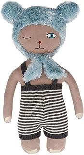 OYOY Topsi Bear kudde för babyrummet och barnrummet – bomullskudde för att gosa, leka, som dekoration – 45 x 28 cm stor – ...