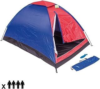 comprar comparacion Enrico Coveri - Tienda de campaña para camping o playa de nailon en forma de cúpula para 4 personas, familia...