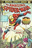 Silver Buffalo MC9036 Marvel Amazing Spiderman Deadliest Hundred Yards Comic Book Cover Wood Wall Art Plaque, 13 x19 inches