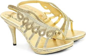 ادا صندل كعب ذهبي -نساء