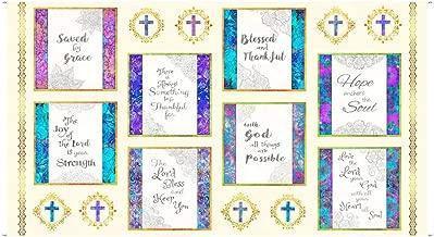 religious fabric panels