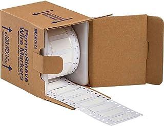 Brady Die-Cut Sleeves for Printers 3PS-500-2-WT