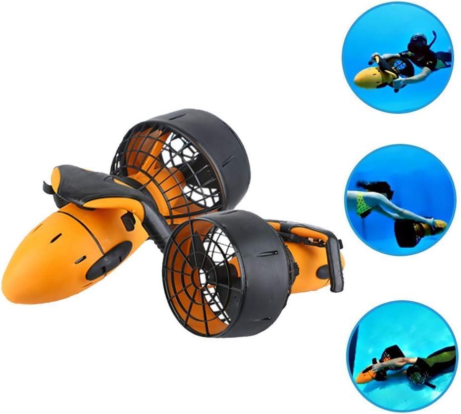 WBJLG Producto para Deportes acuáticos de 300 W, Dispositivo Sumergible de propulsión subacuática, Bicicleta de Agua, Scooter de mar, natación y Buceo