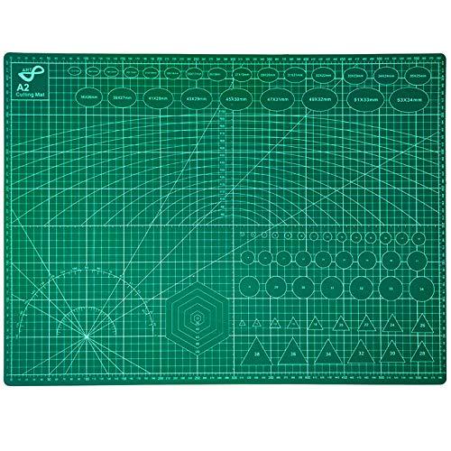 QILZO® Tabla de Corte A2 Doble Cara Plancha de Corte