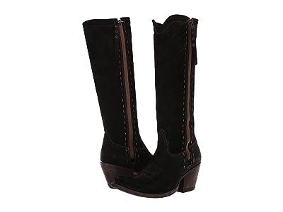 Ariat Giselle (Black Suede) Cowboy Boots