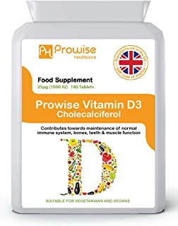 Vitamina D3 25 µg (1000 UI
