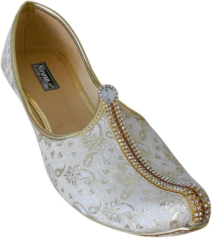 Kalra Creations Men Mojari Indian Traditional Flip-Flops Ethnic Shoes