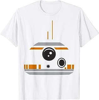 Star Wars The Force Awakens BB-8 Minimalist Big Face Costume T-Shirt