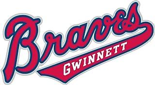 qualityprint Gwinnett Braves MiLB Minor Baseball Sport Home Decor Bumper Vinyl Sticker 14'' X 8''