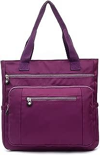 Large Tote Shoulder Handbag Waterproof Tote Bag Multi-function Nylon Travel Shoulder for Commuter Beach Travel Daily Shopping