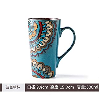 TBSB Simple Bone China Tazas Gran Capacidad de Taza Taza de café,C
