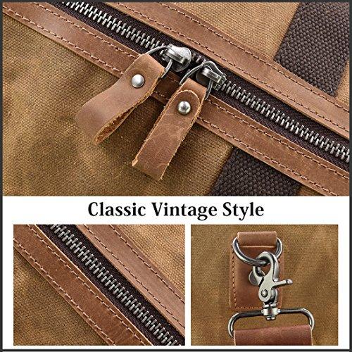 NEWHEY Vintage Reisetasche - 8