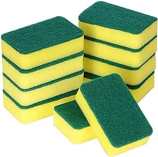 Souqgreen14PCS Kitchen Cleaning Sponges Eco Non-Scratch for Dish Scrub Sponges