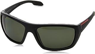 f80f511b43 Prada Linea Rossa 0PS 06SS Gafas de sol, Matte Black, 61 para Hombre