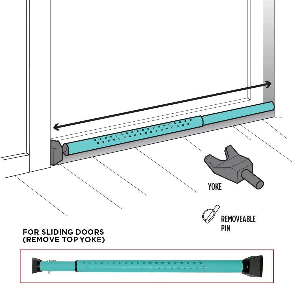 door safety bar