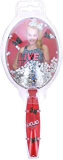 JoJo Siwa Girls Hair Brush Confetti Sparkle Glitter Handle Hair Styling Dance