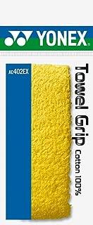 Yonex AC 402 EX Synthetic Badminton Grip, Yellow