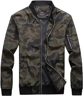 Men's Slim Fit Lightweight Sportswear Jacket Casual Bomber Jacket