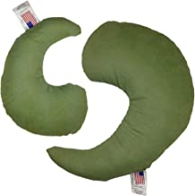 product image for NuAngel Greenbow Support Pillows - (Small & Medium) - Made in USA! (Sage Green)