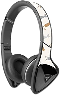 MightySkins Protective Vinyl Skin Decal Compatible with Monster DNA Headphones wrap Cover Sticker Skins Cat Lady