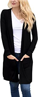 Tribear Women's Long Sleeve Open Front Loose Causal...