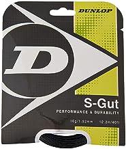 Dunlop S-Gut Tennis String, Black