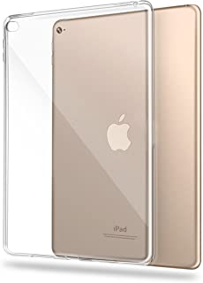 【万屋】iPad Aia 2 ケース 全面保護(液晶部分除き) 耐衝撃 高等シリカゲル素材 iPad air 2 超薄 超透明 ケース iPad 6代水洗い可 汚れ防止 TPUケース (iPad Air 2, シリコン)