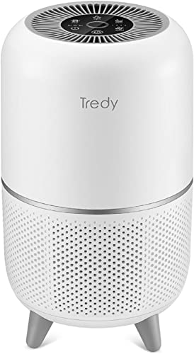 TREDY HEPA Air Purifier for Home Large Room with Air Quality Sensor, Filters Indoor Air and Removes Smoke/Dust/Odor/P...