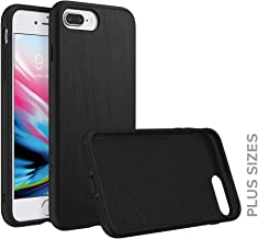 RhinoShield Case for iPhone 8 Plus/iPhone 7 Plus [SolidSuit] | Shock Absorbent Slim Design Protective Cover [3.5 M / 11ft Drop Protection] - Brushed Steel
