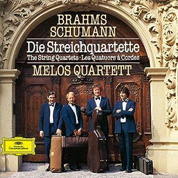 Schumann / Brahms: String Quartets