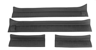 Car Door Sill Guards Entry Scuff Plate Cover Door Sill Protector Replacement for Jeep Wrangler JL JT 2018-2020, 4pcs/Set