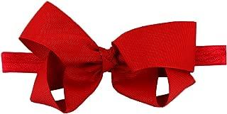 RuffleButts Baby/Toddler Girls Stretchy Bow Headband