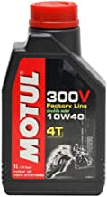 Motul 300V 4T Competition Synthetic Oil - 10W40 - 4L. 836141 / 101352