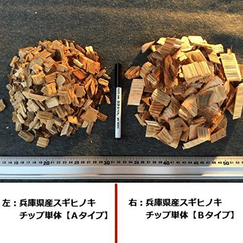 兵庫県産スギ・ヒノキウッドチップAタイプ2袋セット合計100L■舗装厚5cm時およそ2平米分