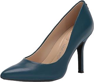 حذاء نسائي Fifth9X9 Pump, جلد أزرق مخضر, 10