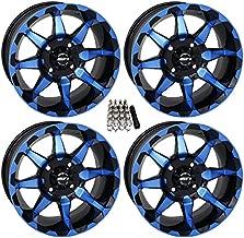 STI HD6 UTV Wheels/Rims Blue/Black 14