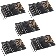 ESP8266 ESP-01S WiFi Serial Transceiver Module with 1MB Flash DIP-8 3-6V(Pack of 5PCS