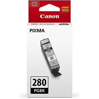 Canon PGI-280 Pigment Black Ink, Compatible to TS9120, TS8120, TS6120, TR8520 and TR7520 Wireless Printer