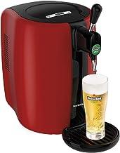 Seb Beertender Tireuse à BièreMachine à Bière Pression Fut 5L Indicateur Température Rouge 70 W VB310510