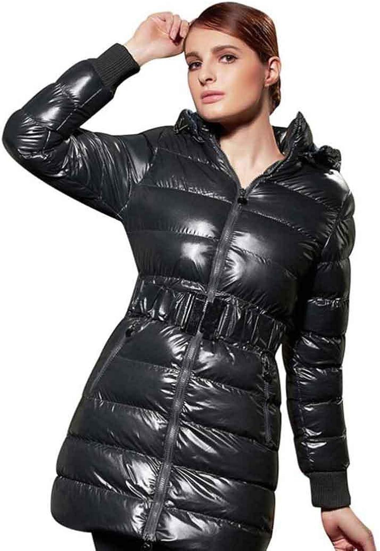 Damen Kleidung Winterjacke Casaco Jaqueta Feminina Inverno Dicke Warme Lange Mantel Schlank Parkas