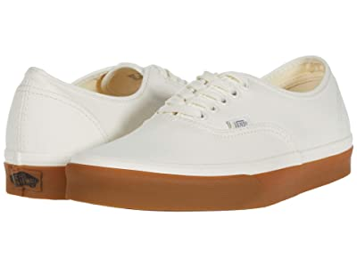 Vans Authentictm ((12 oz Canvas) Marshmallow/Gum) Skate Shoes