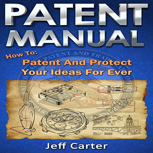 Patent Manual audiobook cover art