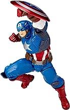 Huangyingui Captain America Revoltech Action Figure Approximately 165 Mm ABS & PVC Painted Action Figure
