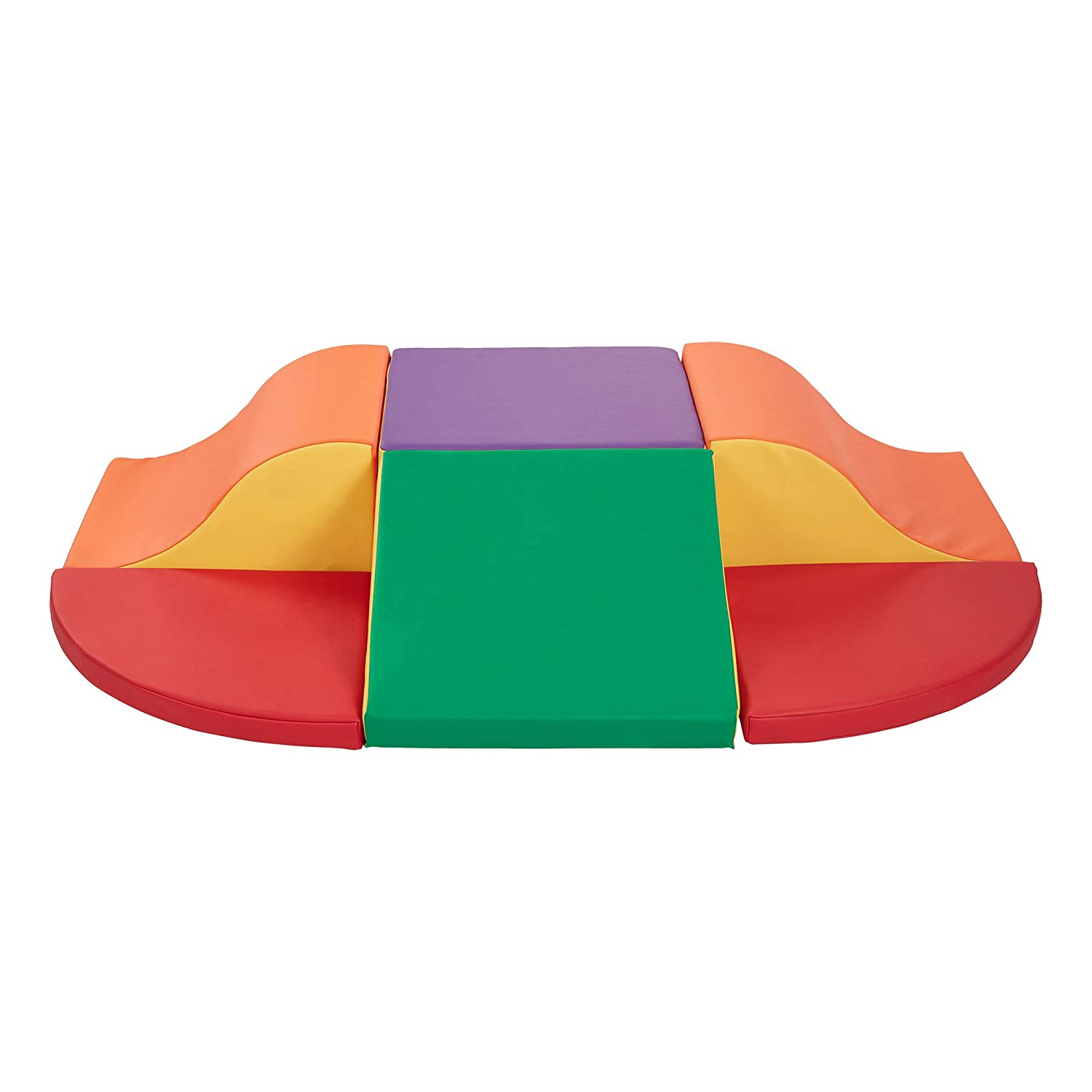 Contemporary Assorted Colors Sprogs Indoor Active Play Soft Foam Super Crawl and Slide Climber for Toddlers and Kids